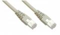 UTP CAT6 Netzwerkkabel 10m Gigabit LAN-Kabel grau